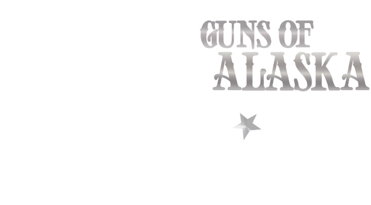 guns of alaska primary logo