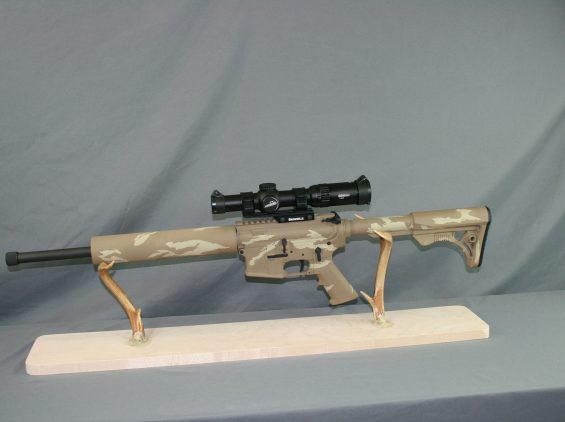 guns of alaska tan camo ar