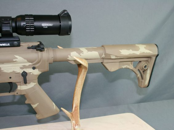guns of alaska tan camo ar 2